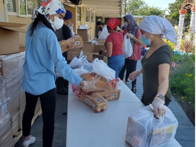 The Khalsa Care Foundation Pantry in Pacoima serves 900 families every Friday.
