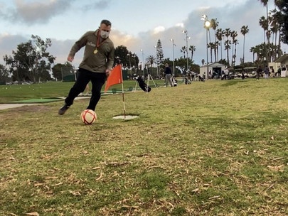 Footgolf Allows People to Play Outside Safely