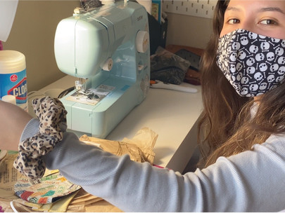 CSUN Student Starts Business to Help Her Family During the COVID-19 Pandemic