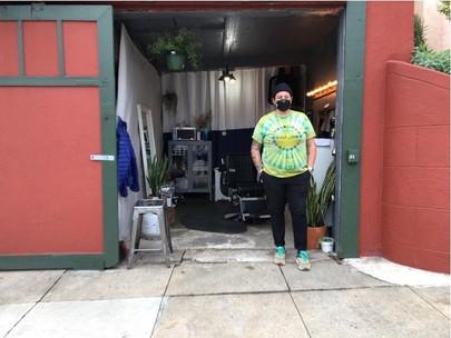 Chrissy Phelan's Open-Air Barbershop