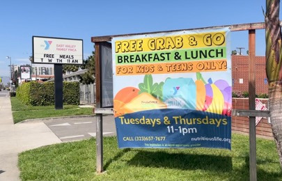 Nutritious Life has meal distribution sites for kids and teens