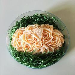 #soapcarving #rose #ソープカービング #ちょうちょ