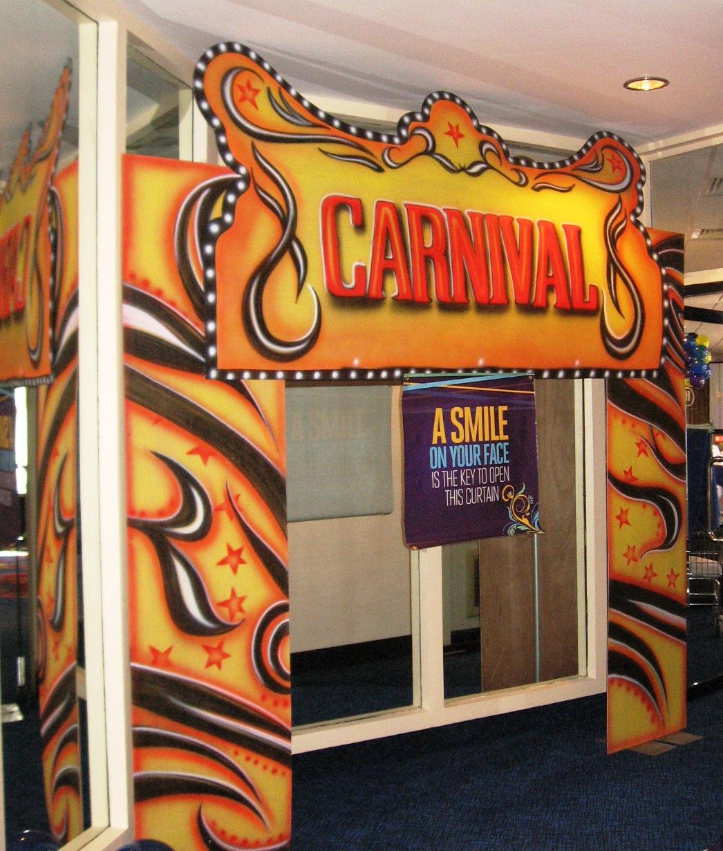 Carnival Booth Design