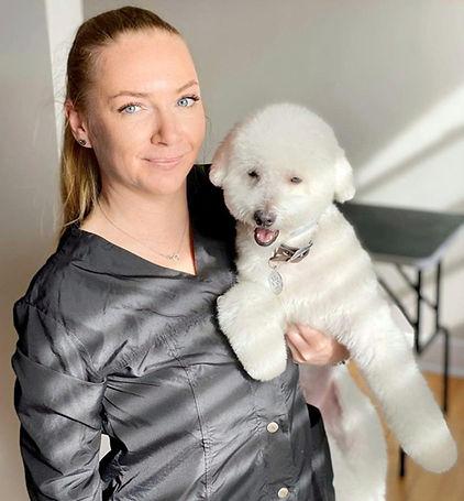 house call dog groomer