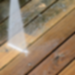 Deck Cleaning by Pressure Washing