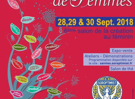 "Salon ""Talents de Femmes"" de Saintes (17)"