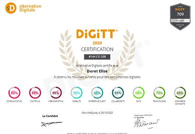 Certificat Digitt rédaction web