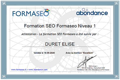 Formation SEO Formaseo rédaction web
