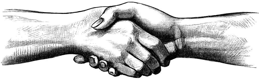 Inclusion numérique : se serrer les mains