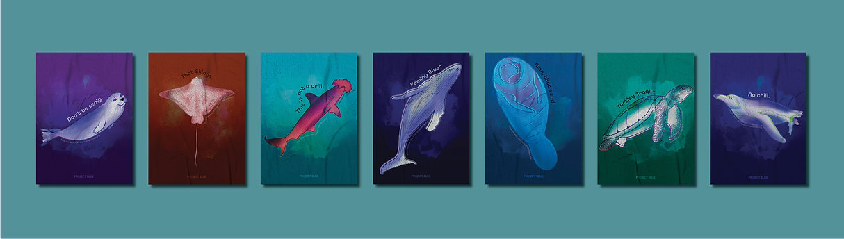 project blue posters