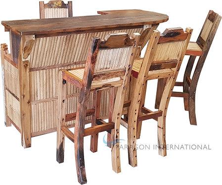 Recycled Timber Bamboo Bar