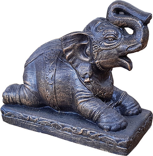 Elephant Statue on Stand