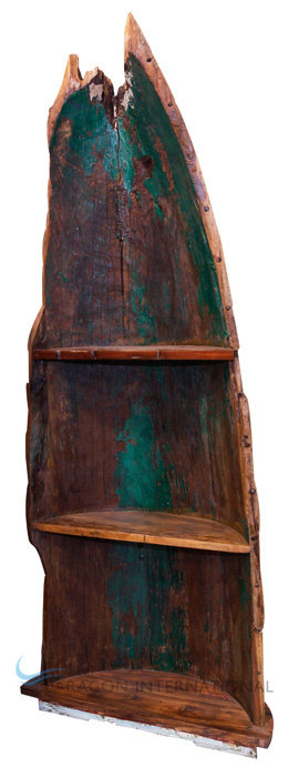 Boatwood Bookcase Abstract