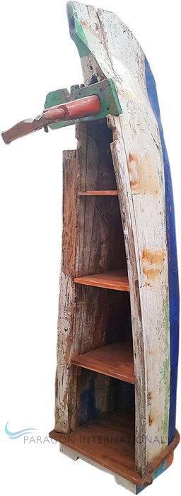 Boatwood Bookcase - Rudder