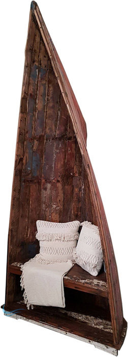 Boatwood Throne Boat Seat