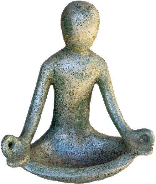 Abstract Meditation Statue