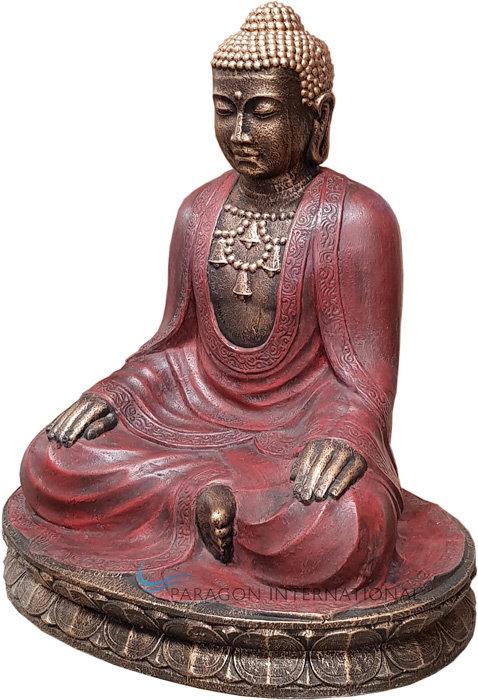 Sitting Buddha Relax Statue