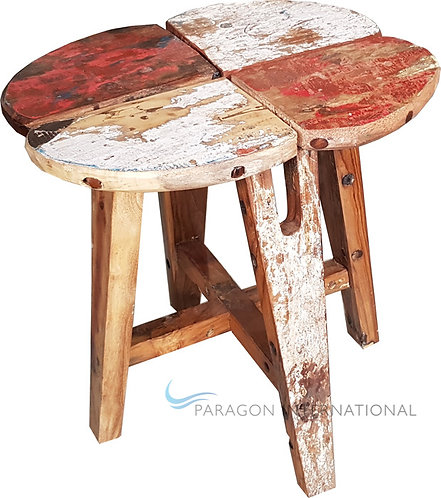 Boatwood Stool - Lucky