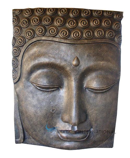 Buddha Face Plaque