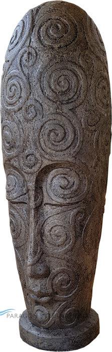 Vase Motif Statue