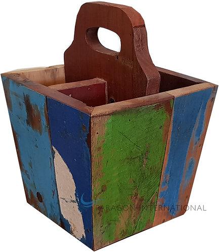 Boatwood Cutlery Box