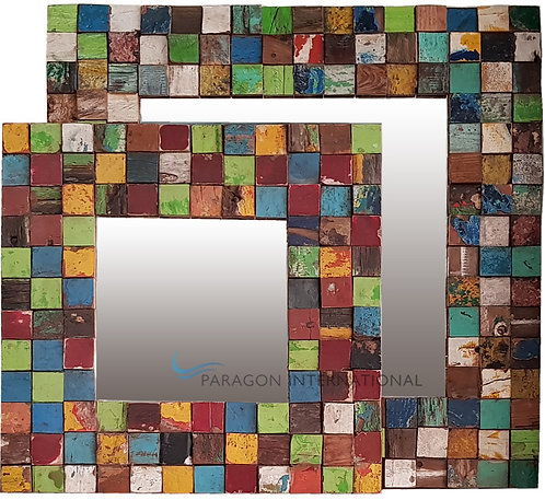 Boatwood Mirrors -Mosaic