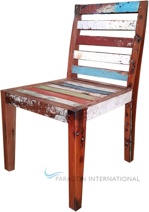 Boatwood Dining Chair - Slatted