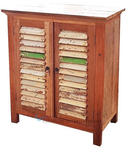 Boatwood Shutter Cabinet