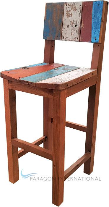Boatwood Bar Chair - STD