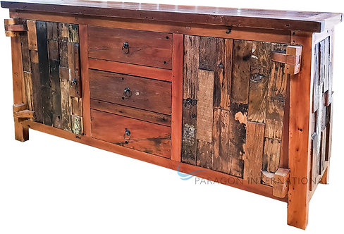 Recycled Patchwork Buffet