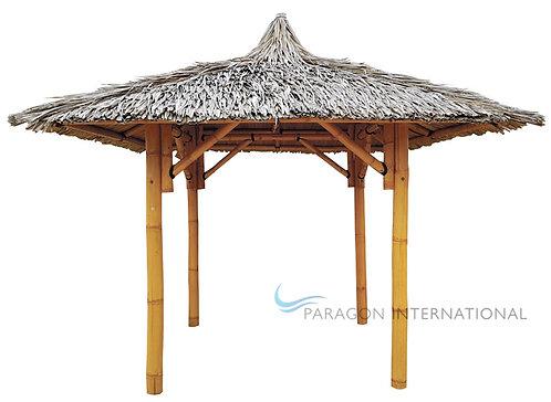 Bamboo Gazebo - Poles & Roof