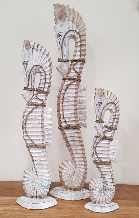 Wooden Seahorses - LGE