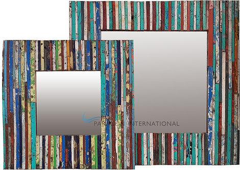 Boatwood Mirrors - Stripe