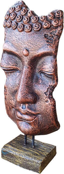 Buddha Face with Stand