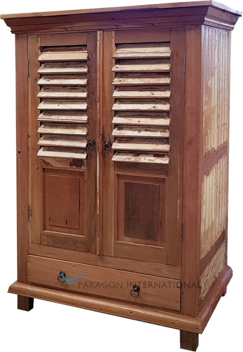 Recycled Timber Shutter Cabinet