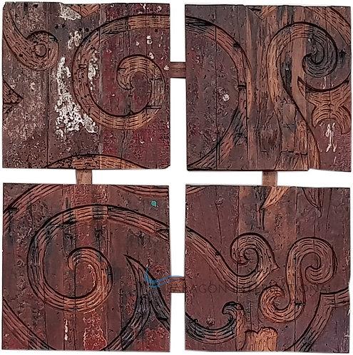 Boatwood Island Deco Panel