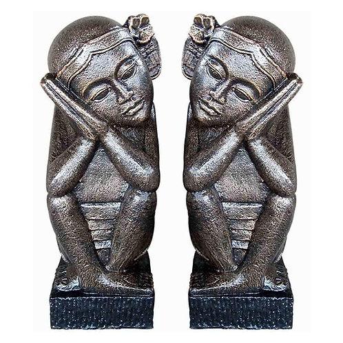 Bali Girl Statues