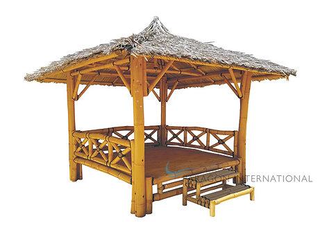 Bamboo Gazebo - Complete