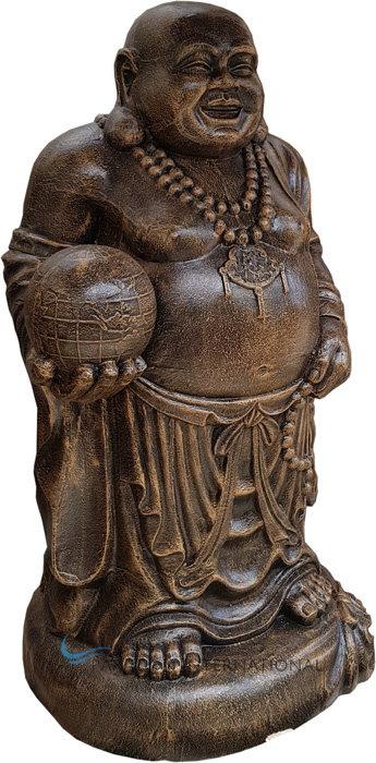 Shaolin Globe Statue