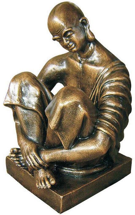 Lazy Shaolin Statue