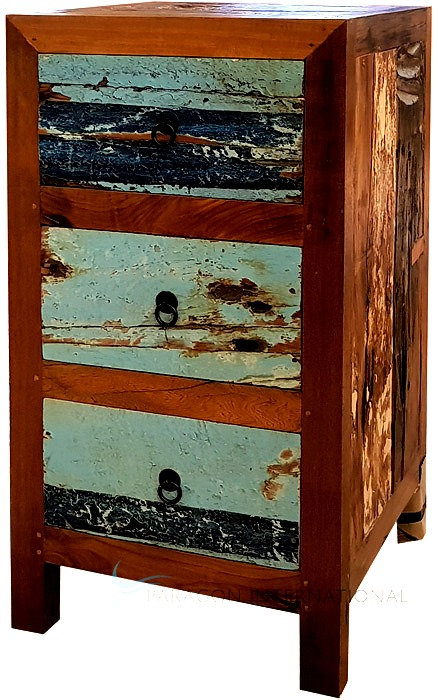 Boatwood Chest - Inset Drawers