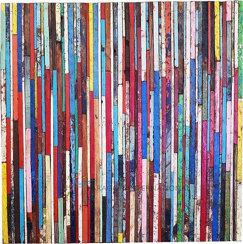 Boatwood Wall Panel - Stripe