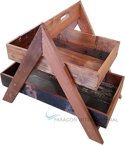 Boatwood 2 Tier Tray