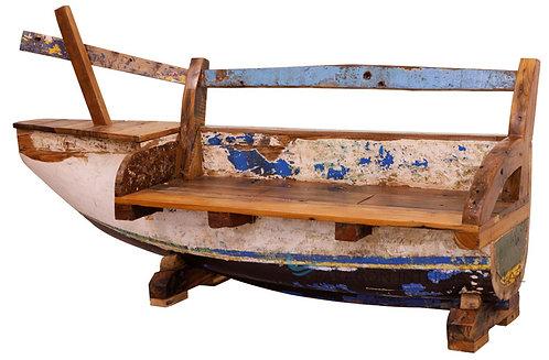 Boatwood Sofa Half
