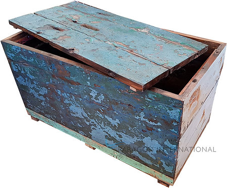 Boatwood Box with Lid