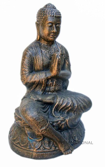 Sitting Buddha Praying Statue