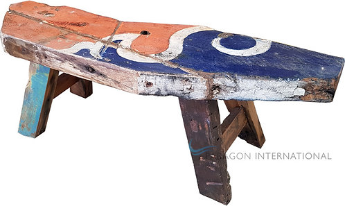 Boatwood Bench - Rustic
