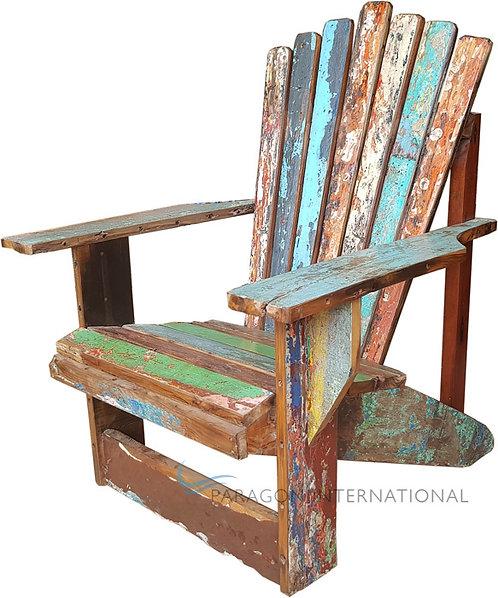 Boatwood Fan Armchair