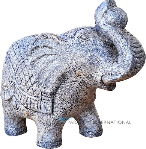 Elephant with Ball Statue