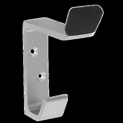 DORTREND 600SA Aluminium Hat & Coat Hook With Buffer - S Anodised Aluminium
